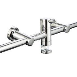 真鍮製のバスルーム、シャワーヘッドスライドバー、ハンドヘルドシャワースライドバー
