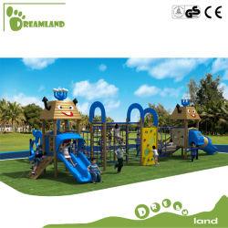 Детей в коммерческих целях деревянные открытый детская площадка для развлечений