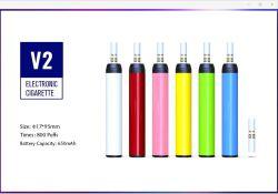 Наиболее востребованных Ksd Vape продуктов E табак сигареты Diposable Ksd V2 800puffs богатый вкус чистый фруктовый вкус