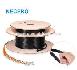 300M (1000ft) LC-LC de 16 núcleos para interior/exterior el modo Multi Pre-Terminated cable de conexi n Multifibras Cable de fibra óptica