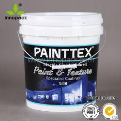 Qualidade elevada 15L plástico balde de tinta para uso de Produtos Químicos