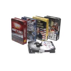 CD DVD verpackenkasten des Zinnblech-
