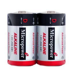 Personalizada OEM D LR20 Bateria Seca Alcalina 1,5v Torch Célula para luz de LED