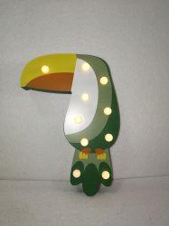 Levou o Tucano Madeira Bird decoração do Bloco