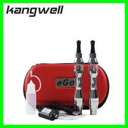 Kangwell 650 مللي أمبير ساعة سيجارة ، EGO E2 مع جهاز التبخير واضح
