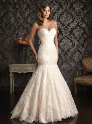 Off-Ombro Lace vestido de noiva Sereia Cordão Sweetheart Suite vestido de casamento 2020 em stock