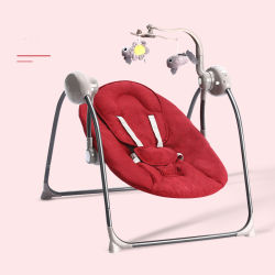 A103 rojo Electric bebé Mecedora silla columpio