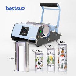 Bestsub Transferência atacado por sublimação de tinta de impressão 20oz 30oz Skinny basculante da reta caneca prensa de calor do preço da máquina
