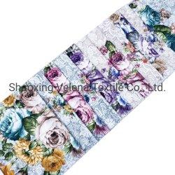 Nova chegada teia de poliéster de veludo de tricotar com rendas Procure Imprimir delicado tecido de móveis para Home Produtos Têxteis