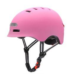 El posicionamiento de Ciclismo Deportes Senderismo Scooter casco con luz posterior/reproducción de pista/Electrónica valla/voz recogedor