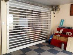 Protecção contra raios ultravioleta UV material de policarbonato transparente da porta do obturador