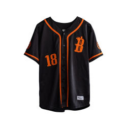 Nuevo diseño personalizado por sublimación de venta al por mayor camisetas de béisbol