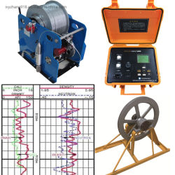 ポータブルの販売のための健康な記録のツールの井戸記録装置の試錐孔調査記録装置および地球物理学の記録装置の健康なログ
