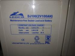 Leoch plomb-acide de batterie 2V100ah pour balance électronique