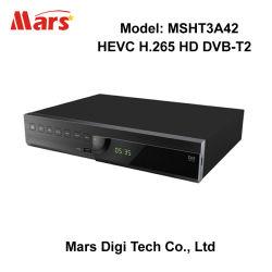 몽타주 8051 HD H.264 MPEG-4 Hevc H.265 DVB-T2 고정되는 최고 상자