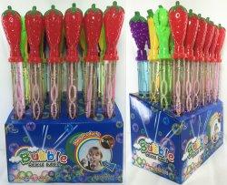Varita de la burbuja de gran valor Super Verano hermoso juguete Juguetes H93774016 La burbuja de la fruta