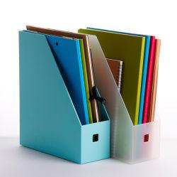 Des fournisseurs industriels en plastique transparent d'étagère de fichier PP Matériel Fournitures de bureau