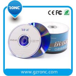 50PCS収縮の覆いの安い卸売4.7GB 16X 120mins DVD-R