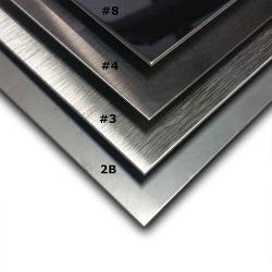 5mm d'épaisseur 347 316ti plaque en acier inoxydable laminés à froid