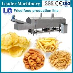 Máquina de fritura contínua automática/Dispositivo de fritura para economia de energia para pequenas empresas