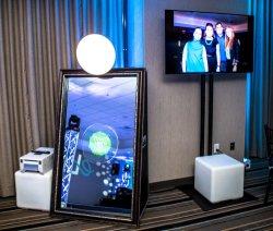 2019 miroir beauté Digital Photo Booth, miroir de moi Booth, Photo Booth en aluminium