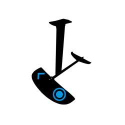 Aluminiumtragflügelboot-Kohlenstoff-Faser-Tragflügelboot-Folien-Drachen-Surfen