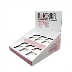 Armazenar Pele promocionais embranquecimento da nata de contador de Exibição de papelão Expedidor de beleza