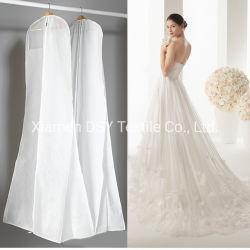 カスタムロゴの卸売の花嫁のウェディングドレスの衣服のスーツカバー袋