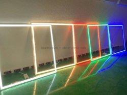 600*600 квадратных цвет декоративной Тонкая светодиодная панель освещения рамы используйте в строительстве стен, бар, реклама
