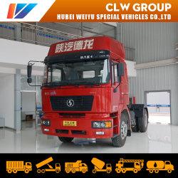 Cambio manuale Shacman Shanqi trasporto di rimorchi leggeri con carico 4X2 Testa motrice per consegna da 40 a 50 tonnellate