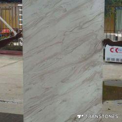 白い人工的な石造りの半透明なオニックスの平板のアクリルシート