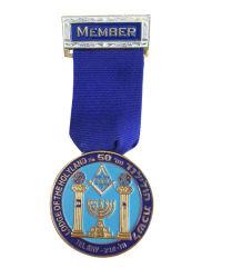 Custom высокое качество медаль эмблему с лентой (YB-LY-B-12)