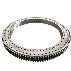 Alliage acier structurel 45g grue roulement de pivotement avec différents numéro de chambre