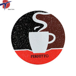 20micron Kaffee-Kapsel-Aluminiumfolie-Kappen der Stärken-37mm