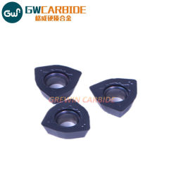 Inserti Indexable per il taglio di metalli del carburo di tungsteno di PCD/CVD