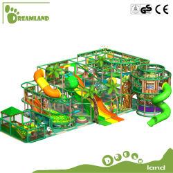 ملعب للأطفال مخصص للأطفال داخل المنزل مع شريحة بلاستيكية معدات الألعاب