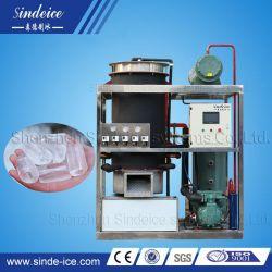 4t Máquina de hielo de tubo automática con sistema de control PLC