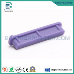 La tecnología de moldeo por inyección y SBR, Nr, NBR, silicona, PP, PVC, PE, tapas de goma ronda los pies de goma