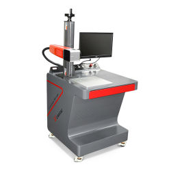 20W 30W Zwarte Laser die Machine voor de Mobiele Shell Qr van de Telefoon Gravure van de Code merkt
