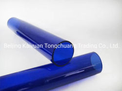 高品質の淡いブルーのホウケイ酸塩ガラスの管/Tube
