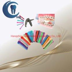 Kanon van de Ligatuur van de Banden van de Ligatuur van China Soe het Orthodontische Elastische met FDA van Ce ISO TandLevering