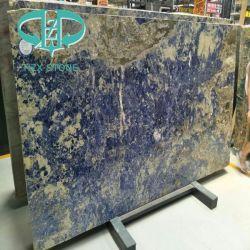 Het verbazende Blauwe Marmer van de Kleur voor Vloer/Muur/Worktops/Lijst/Keuken/Badkamers/Achtergrond