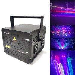 Luce laser del DJ Stage5w della strumentazione per la barra esterna del randello di notte