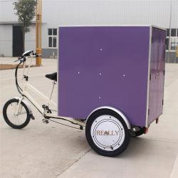Электрический 7 скоростей передачи доставку продовольствия инвалидных колясках алюминиевая рама грузовых Trike три колеса велосипеда