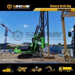 Het hydraulische Roterende Spoor van de Machine van de Installatie van de Boring zette de Installatie van de Boor op