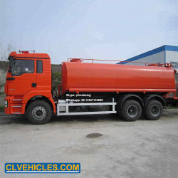 Automobile dell'acqua delle rotelle 30cbm della Cina Shacman 10 per la spruzzatura della via