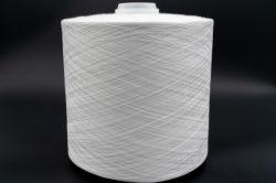 Commerce de gros de matières Blanc 100 % filés de polyester 50S/2 Fabricant en Chine