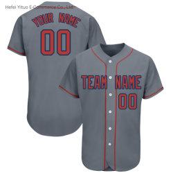 Het Honkbal Jersey van de modieuze Mensen van de Polyester van 100% op de Verzekering van de Kwaliteit