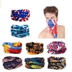 Comercio al por mayor barato pañuelo personalizado multifunción de tubos sin costura Bandana sombreros