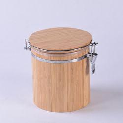 Природные бамбук герметичный может для приготовления чая / сахар и специи и соль